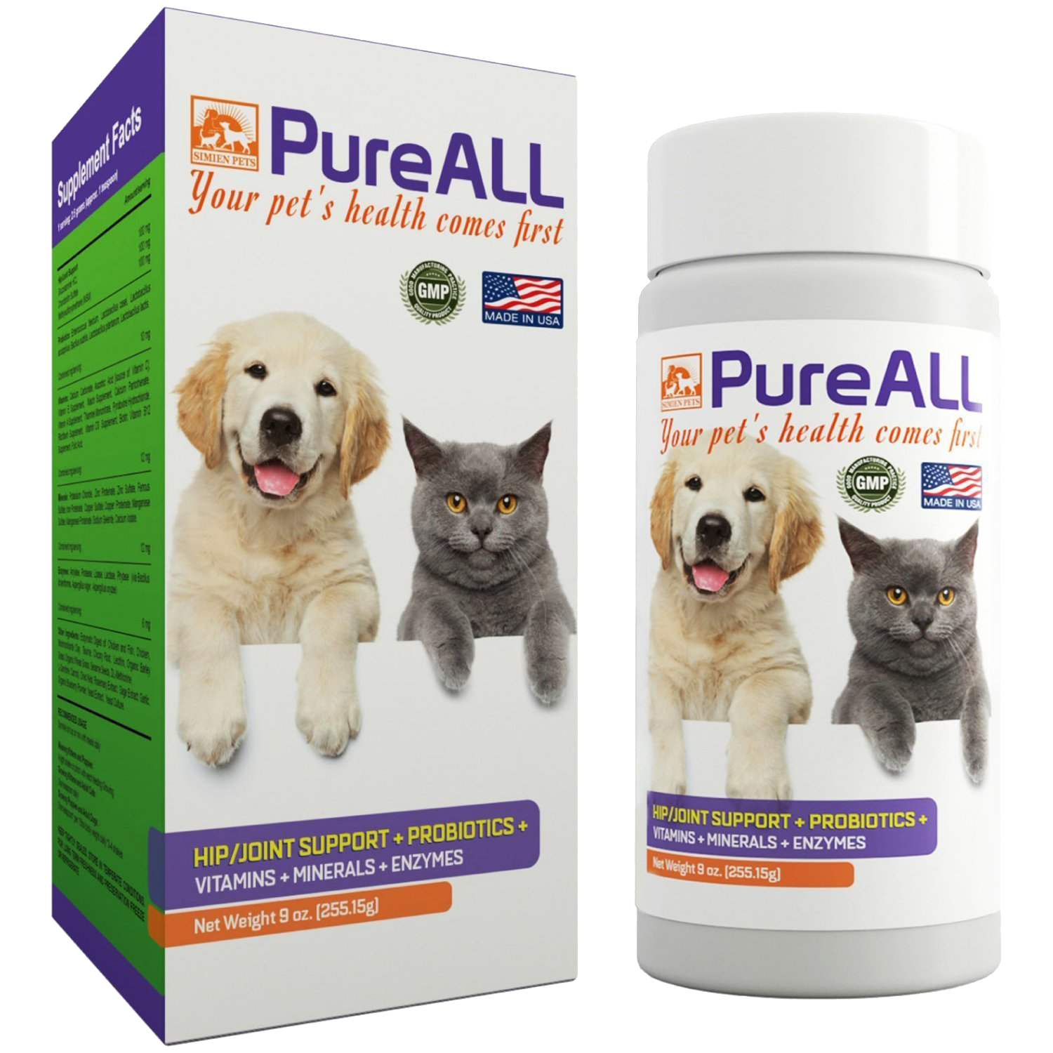 Simien Pets PureAll All-In-One Supplement